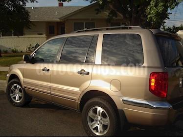 Honda Pilot EX usado (2003) color Bronce precio u$s11.500