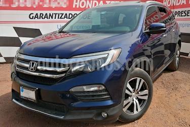 Honda Pilot Touring usado (2016) color Azul precio $375,000