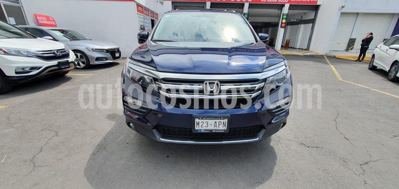 Honda Pilot Touring usado (2017) color Azul precio $480,000