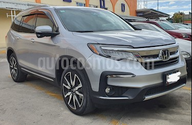 Honda Pilot Touring usado (2019) color Plata Lunar precio $620,000