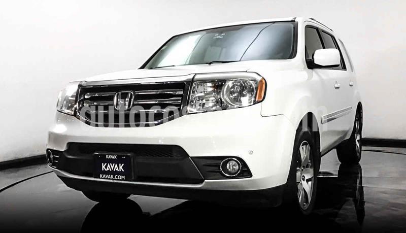 Honda Pilot Touring usado (2014) color Blanco precio $252,999