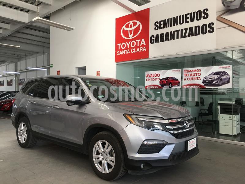 Honda Pilot EX usado (2016) color Plata precio $350,000