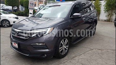 Honda Pilot 5p Touring SE V6/3.5 Aut usado (2016) color Gris precio $378,000