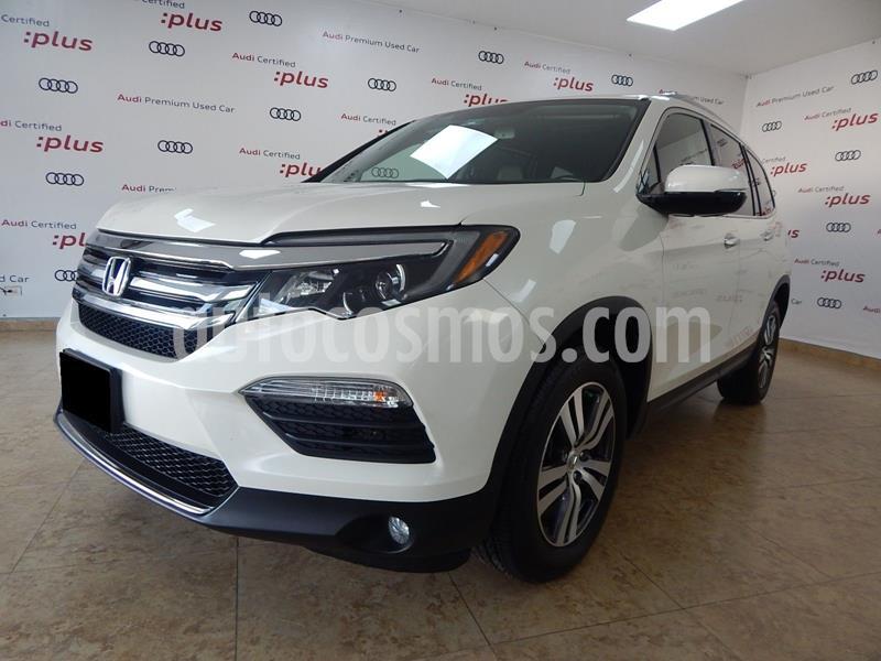 Honda Pilot Touring usado (2017) color Blanco precio $410,000