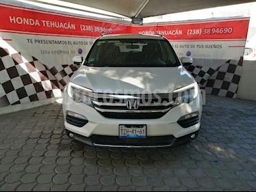 Honda Pilot Touring usado (2016) color Blanco Diamante precio $429,000