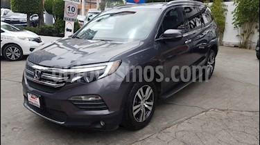 Honda Pilot 5p Touring SE V6/3.5 Aut usado (2016) color Gris precio $419,000