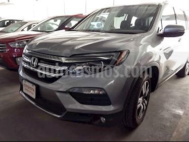 Honda Pilot 5p Touring SE V6/3.5 Aut usado (2016) color Plata precio $398,000