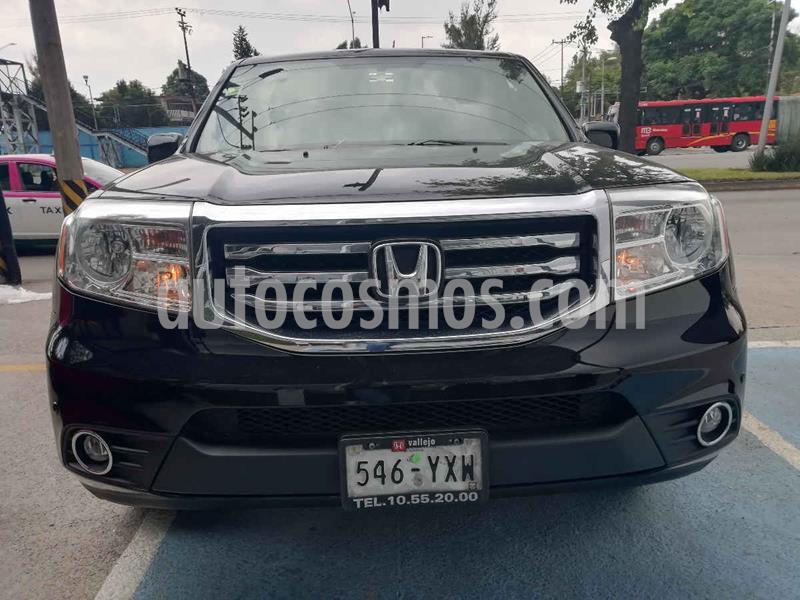 Honda Pilot Touring usado (2013) color Negro precio $229,000