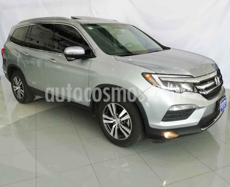 Honda Pilot 5p Touring SE V6/3.5 Aut usado (2016) color Plata precio $390,000