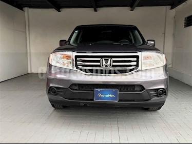 Honda Pilot 5p EX V6 3.5L Aut. usado (2014) color Gris precio $248,000
