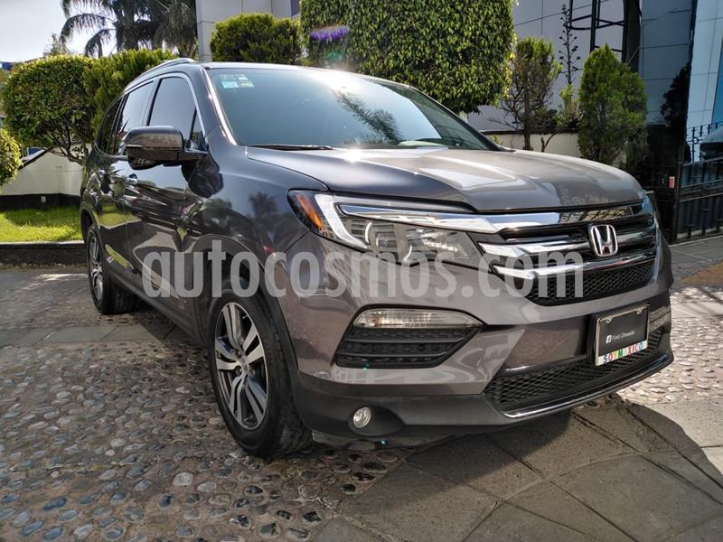 Honda Pilot Touring usado (2016) color Gris precio $380,000