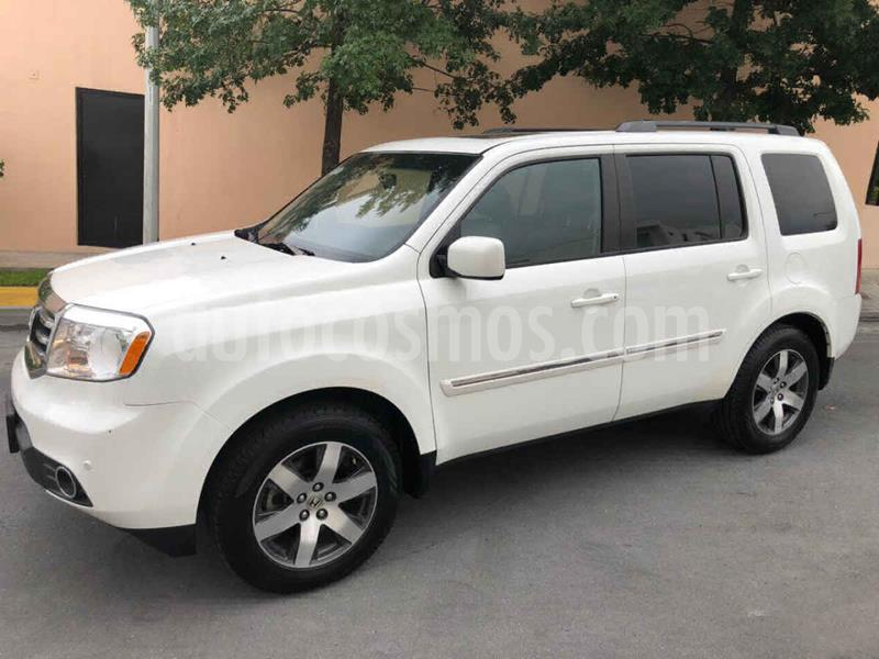 Honda Pilot Touring usado (2013) color Blanco precio $269,000