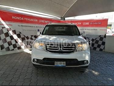 Honda Pilot Touring usado (2012) color Blanco Marfil precio $225,000