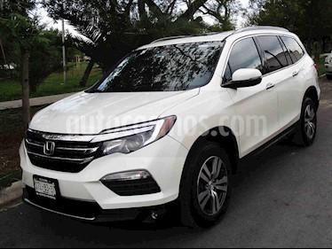 Honda Pilot Touring usado (2016) color Blanco precio $385,000