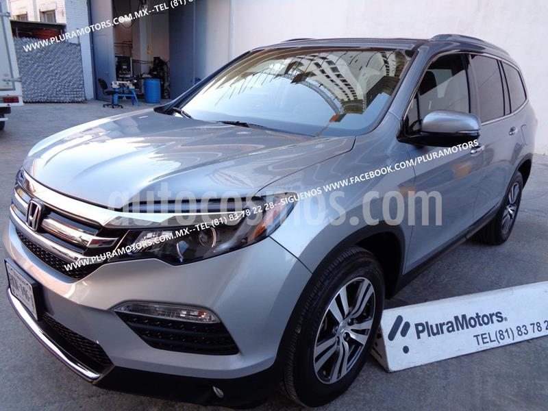 Honda Pilot Touring usado (2017) color Plata Dorado precio $449,000
