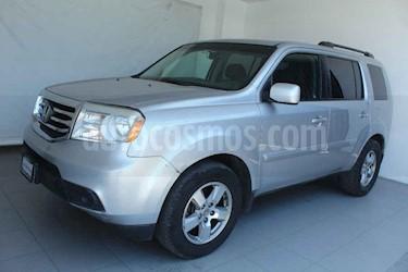 Honda Pilot 5p EX aut 4x2 a/a ee usado (2012) color Plata precio $199,000
