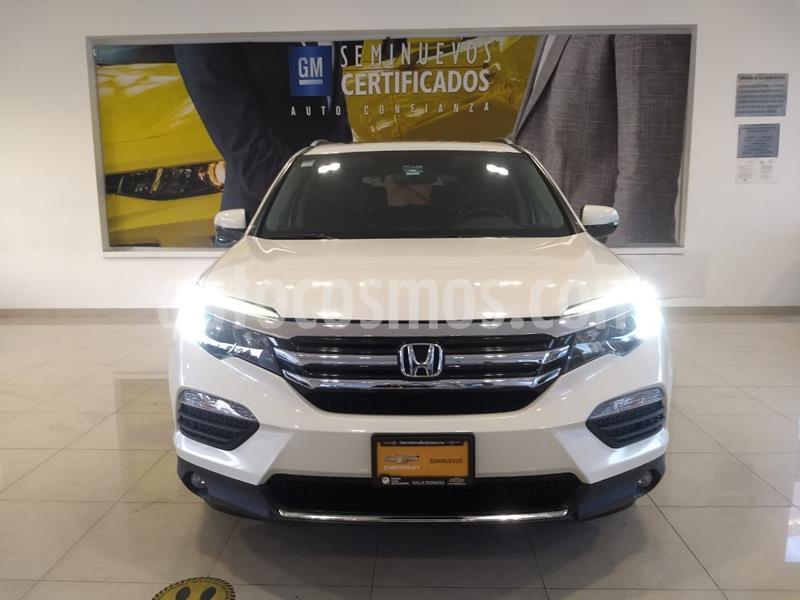 Honda Pilot Touring usado (2017) color Blanco precio $430,000