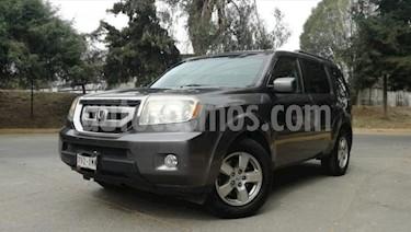 Honda Pilot 5P EXL TA A/AC. AUT. QC PIEL 6 CD AE 4X4 usado (2011) color Gris precio $199,000