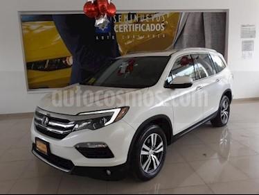 Honda Pilot 5P TOURING SE V6/3.5 AUT usado (2017) color Blanco precio $525,900