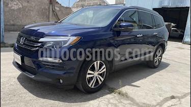 Honda Pilot Touring SE usado (2017) color Azul precio $470,000