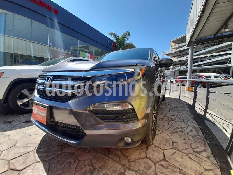 Honda Pilot Touring SE usado (2017) color Gris precio $465,000