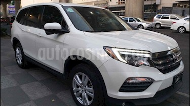 Honda Pilot 5p EX V6/3.5 Aut usado (2016) color Blanco precio $385,000