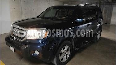 Honda Pilot 5p EXL aut 4x4 a/a ee piel usado (2011) color Azul precio $185,000