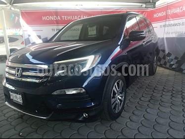 Foto venta Auto usado Honda Pilot Touring (2016) color Azul precio $485,000