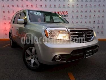 Foto venta Auto usado Honda Pilot Touring (2013) color Plata Diamante precio $245,000