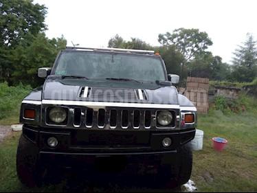 Hummer H2 SUV usado (2003) color Negro precio $300,000
