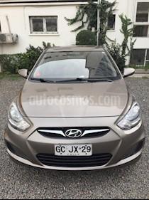 Hyundai Accent HB 1.4 GL 5P usado (2014) color Bronce precio $5.000.000