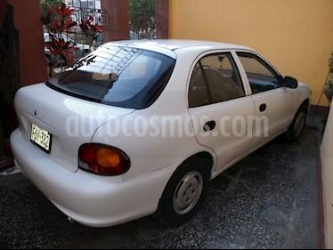 Foto venta Auto usado Hyundai Accent Sedan 1.4L GL Full (1997) color Blanco precio u$s3,500