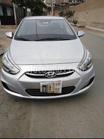Hyundai Accent Sedan 1.4L GL  usado (2016) color Plata precio u$s11,900