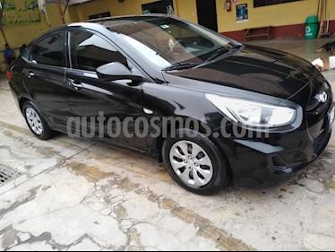 Hyundai Accent Sedan 1.4L GL  usado (2016) color Negro precio u$s9,600