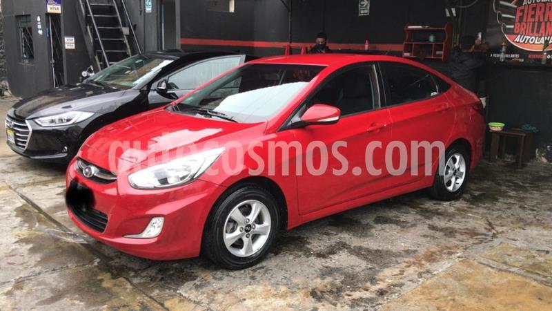 Hyundai Accent Sedan 1.4L GLS  usado (2015) color Rojo Vivo precio u$s11,500