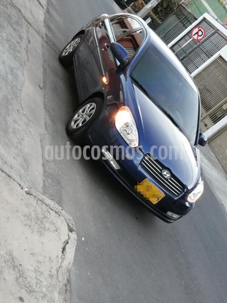 Hyundai Accent Vision GLS 1.4L usado (2008) color Azul precio $16.500.000