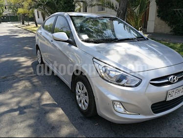 Foto venta Auto usado Hyundai Accent 1.4 GL Ac Plus (2016) color Plata precio $7.490.000