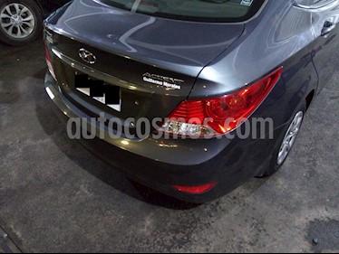 Hyundai Accent 1.4 GL Ac usado (2013) color Gris Carbono precio $5.300.000