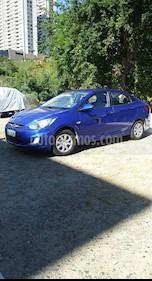 Foto venta Auto Usado Hyundai Accent 1.4 GL Ac (2014) color Azul precio $5.900.000