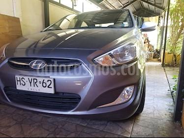 Hyundai Accent 1.4 GL Ac usado (2016) color Gris Carbono precio $6.500.000