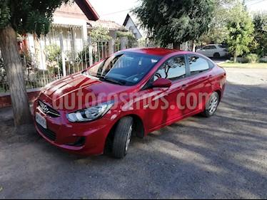Hyundai Accent 1.4 GL Ac usado (2014) color Rojo precio $5.800.000
