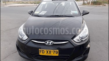 Hyundai Accent 1.4 GL usado (2017) color Negro precio $12.900.000