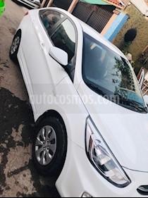 Hyundai Accent 1.4 GL usado (2017) color Blanco precio $7.800.000