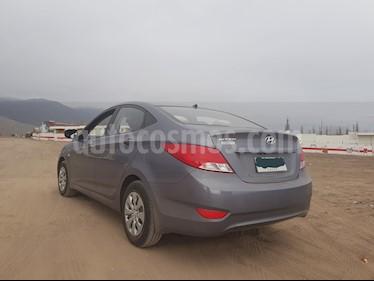 Hyundai Accent 1.4L GL Ac usado (2017) color Gris precio $6.700.000