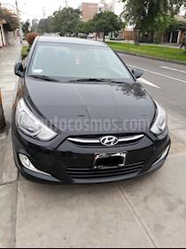 Hyundai Accent 1.4L GL Sport Aut usado (2015) color Negro precio u$s12,500