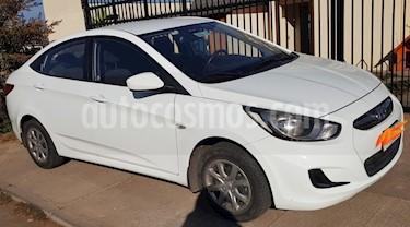 Foto venta Auto usado Hyundai Accent 1.4L GL (2014) color Blanco precio $5.500.000