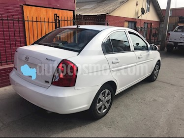 Hyundai Accent 1.5 GLS Diesel  usado (2008) color Blanco precio $3.300.000