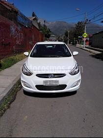 Hyundai Accent 1.6 GL Ac usado (2016) color Blanco precio $6.400.000