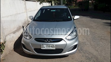 Hyundai Accent 1.6 GL  usado (2014) color Plata precio $5.700.000