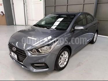 Foto Hyundai Accent 4p GL Mid L4/1.6 Aut usado (2018) color Gris precio $230,000
